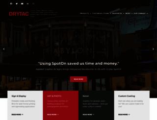 drytac.com screenshot