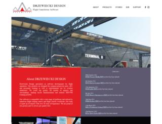 drzewiecki-design.net screenshot