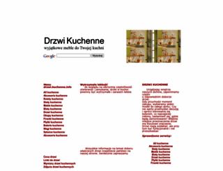 drzwi.kuchenne.info screenshot