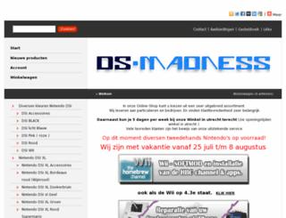ds-madness.nl screenshot