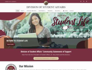 dsa.fsu.edu screenshot