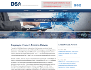 dsainc.com screenshot