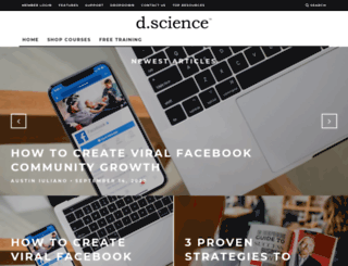 dscience.co screenshot