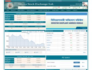 dse.com.bd screenshot