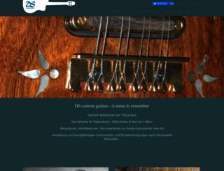 dsguitars.com screenshot