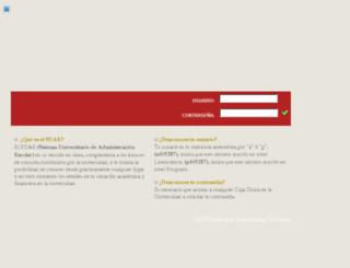 dsiweb.uach.mx screenshot