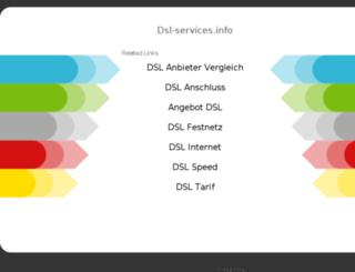 dsl-services.info screenshot