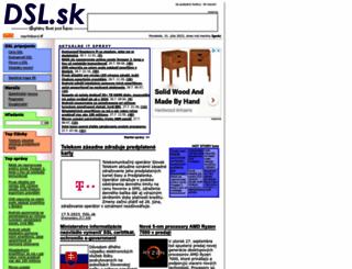dsl.sk screenshot