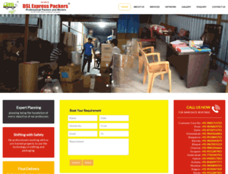 dslpackers.com screenshot