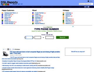 dslreports.com screenshot