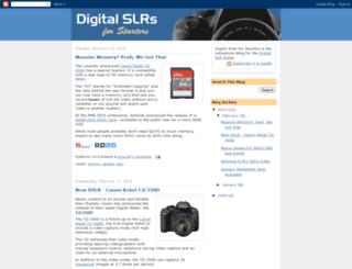 dslrforstarters.blogspot.com screenshot