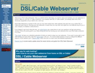 dslwebserver.com screenshot