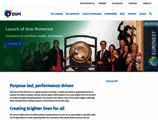 dsm.com screenshot