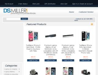 dsmiller.com screenshot