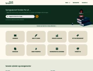dsn.dk screenshot
