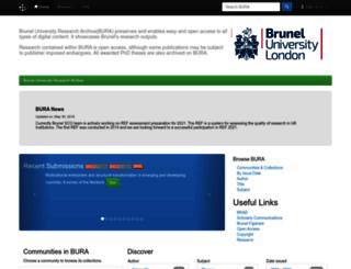 dspace.brunel.ac.uk screenshot