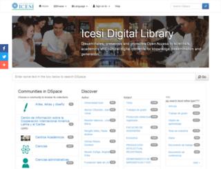 dspace.icesi.edu.co screenshot