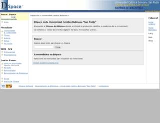 dspace.ucbscz.edu.bo screenshot