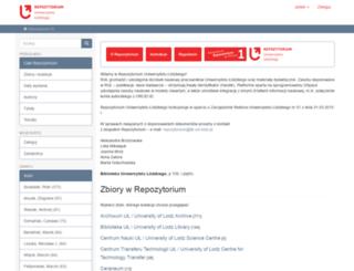 dspace.uni.lodz.pl screenshot