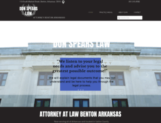 dspearslaw.com screenshot