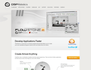 dsprobotics.com screenshot