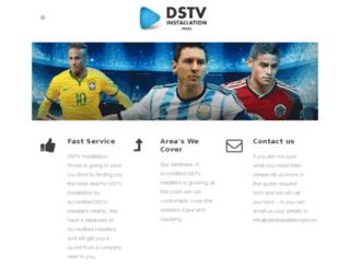 dstvinstallationprices.com screenshot