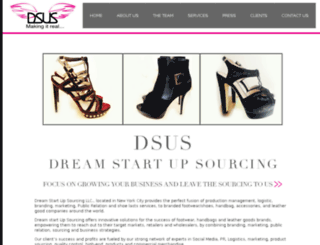 dsusourcing.com screenshot