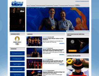 dsv.de screenshot