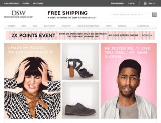 dsw.com screenshot