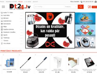 dt24.lv screenshot