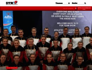dtb-online.de screenshot
