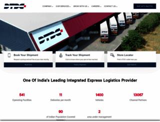 dtdc.in screenshot
