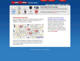 dte.know-where.com screenshot