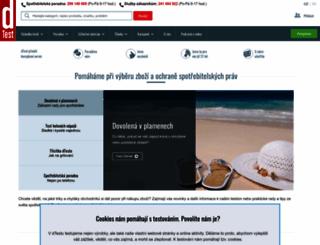 dtest.cz screenshot