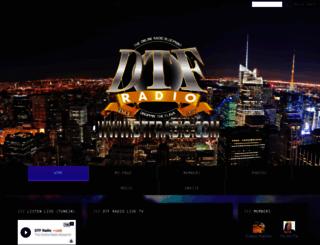 dtfradio.com screenshot