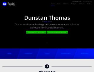 dthomas.co.uk screenshot
