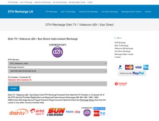 dthrechargelk.com screenshot