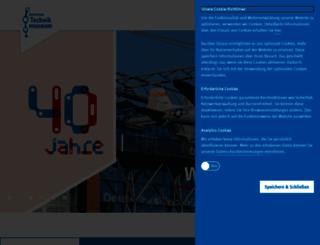 dtmb.de screenshot