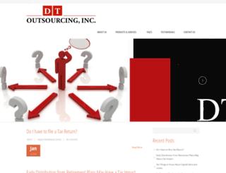 dtoutsource.com screenshot