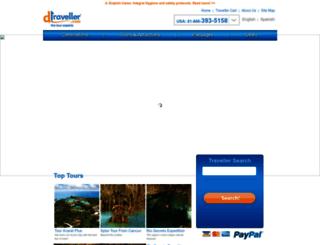 dtraveller.com screenshot