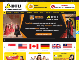 dtu.com.vn screenshot