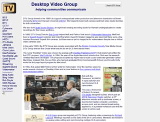 dtvgroup.com screenshot