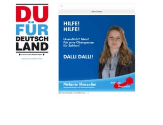 du-fuer-deutschland.de screenshot