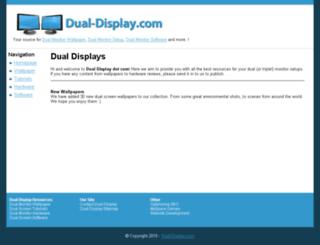 dual-display.com screenshot