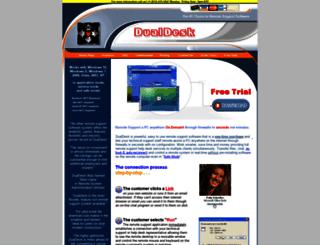 dualdesk.com screenshot