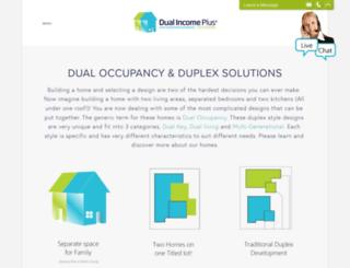 dualincomeplus.com screenshot