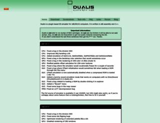 dualis.1emu.net screenshot