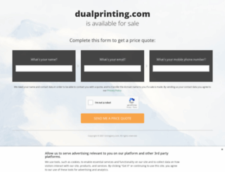 dualprinting.com screenshot