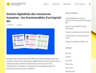 dualrecrut.com screenshot