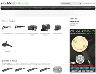 dualsaw.com screenshot